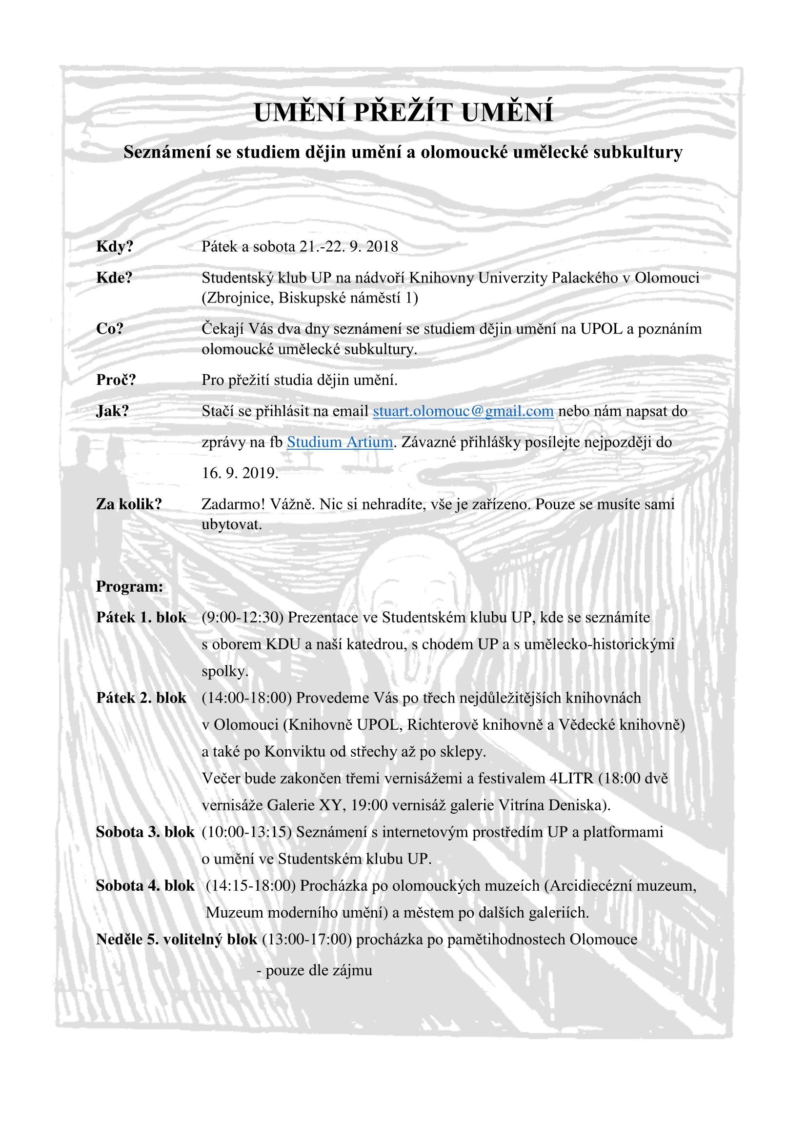 UMĚNÍ PŘEŽÍT UMĚNÍ pozvánka-1
